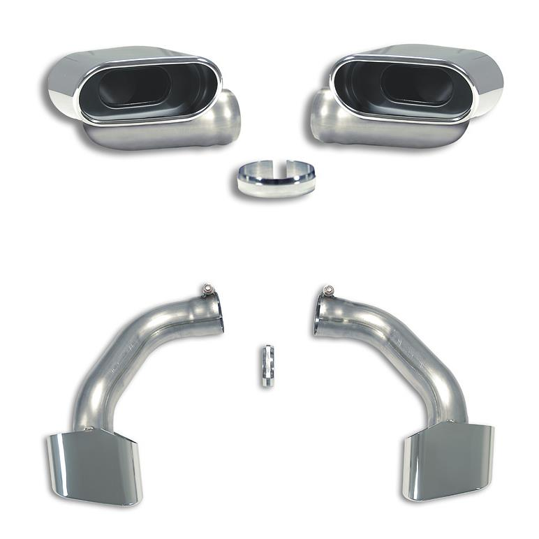 BMW - BMW E70 X5 50i V8 Bi-turbo 2010 -> 04/2011 Endpipe Kit Right - Left  ov. 145x75, performance exhaust systems