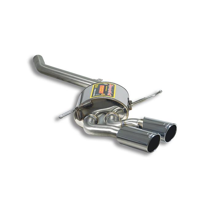 Mercedes - MERCEDES W164 ML 500 ( 5.0i ) V8 '05 -> '06 Rear exhaust Left OO80, performance exhaust systems