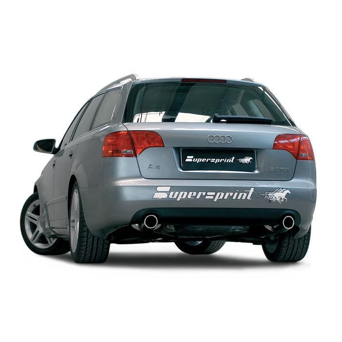 audi a4 quattro 2.0 tdi (140 hp - 170 hp) (sedan + avant) '05 -> '08