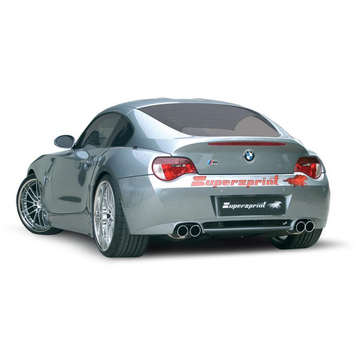 Supersprint udstødning til BMW Z4 M Roadster/Coupè
