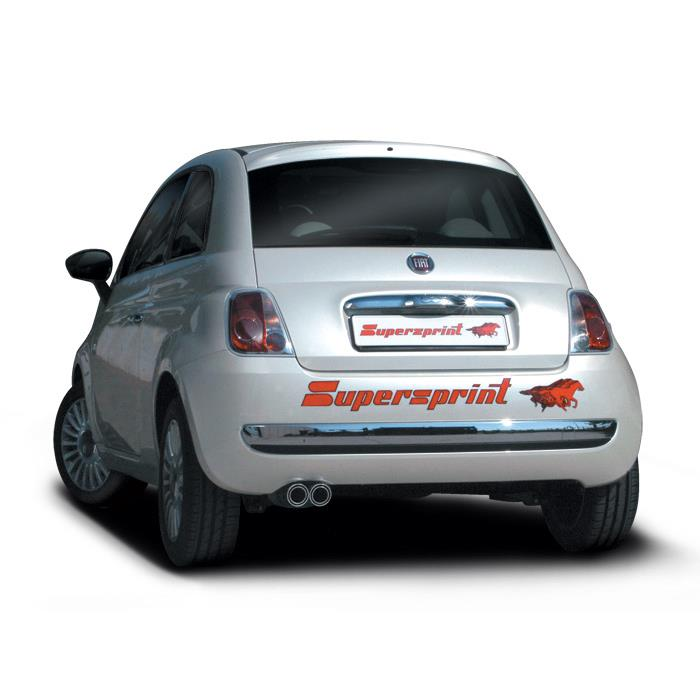 Fiat 500 14i 16v 100 Hp 07 13 Fiat Exhaust Systems