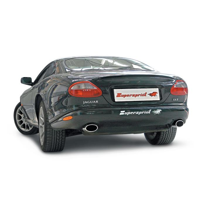 Performance sport exhaust for JAGUAR XKR 4 0i Supercharged