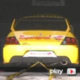 MITSUBISHI LANCER 2.0 Turbo 4WD EVO 9 (video I)