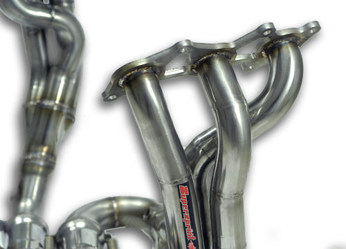 Lotus Evora - Detail of the primary pipes of the rear manifold 441101