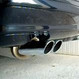 Mercedes R129 SL 280 V6 - Supersprint rear exhaust