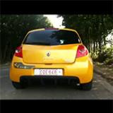 "RENAULT CLIO III 2.0i RS (200 Hp) 2010 -> Supersprint Catback ""Racing"" (2)"