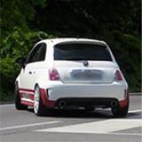 500 Abarth 1.4T - 1446 turbocharger - Ecu remap - Full exhaust