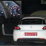 VW SCIROCCO 1.4 TSI (160 Hp) '08 -> Full exhaust - Dyno run