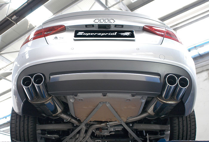 767206 767236: Audi A5 Exhaust At Woreks.co