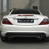 Mercedes SLK R172 250 CGI: exhaust system development