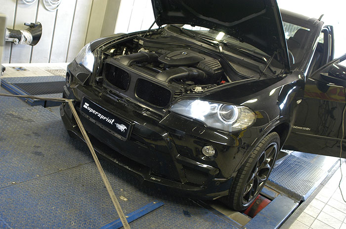 Dyno testing - Harge front bumper