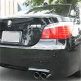BMW E60 M5 - Supersprint X-pipe + Rear exhausts