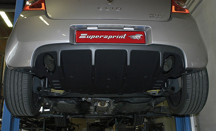 873804 Rear exhaust Dx-Sx + Custom endpipe kit
