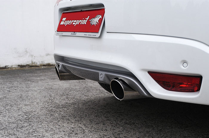 performance sport exhaust for renault megane 3 2.0 tce, renault