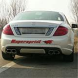 Mercedes C216 CL AMG - Supersprint full exhaust system