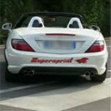 Mercedes R172 SLK 250 CGI - Supersprint Catback system