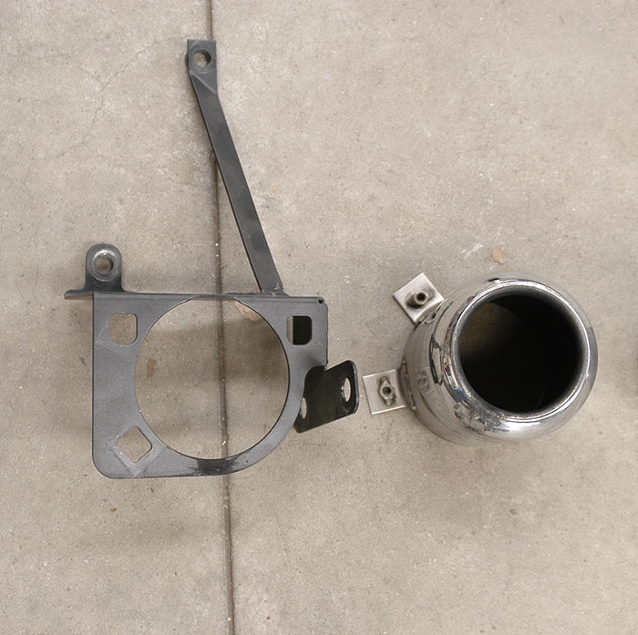 OEM enpipe and bracket
