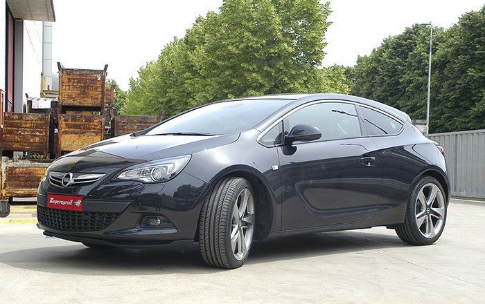 opel astra j gtc turbo 180 hp 2011 opel exhaust systems. Black Bedroom Furniture Sets. Home Design Ideas