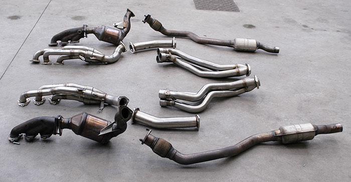 Performance sport exhaust for Audi S5 B8 sportback, AUDI S5