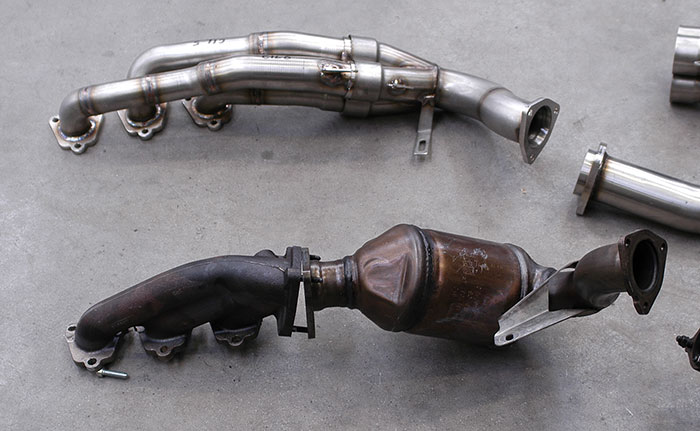 "Stock manifold VS 769101 Manifold R. + 769111 Connecting pipes 3–›1 ""Street"""