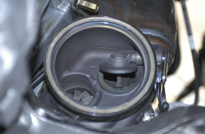Detail of the Turbocharger