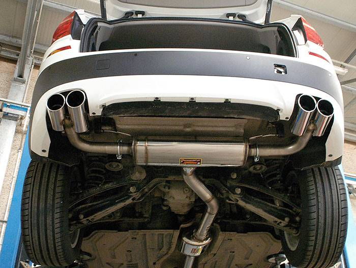986603 Centre exhaust+986604 Rear exhaust R.- L. + 986626 Endpipe kit R. OO90 - L. OO90