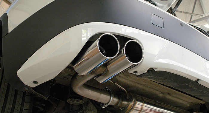986604 Rear exhaust R.- L. + 986626 Endpipe kit R. OO90 - L. OO90