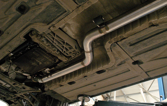 986603 Centre exhaust