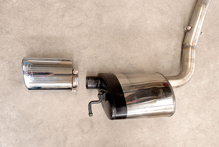 Prototype of 848205 Rear exhaust R. 145x95