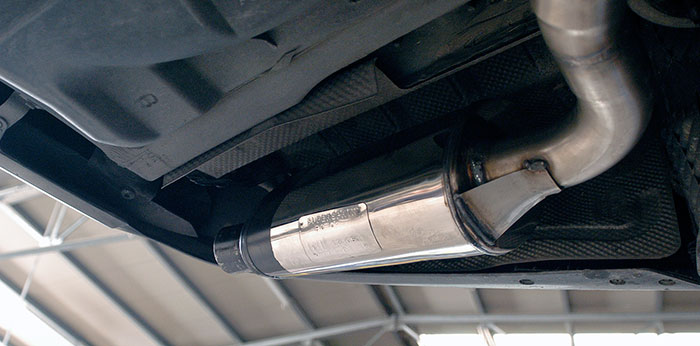 Prototype of 848235 Rear exhaust L. 145x95