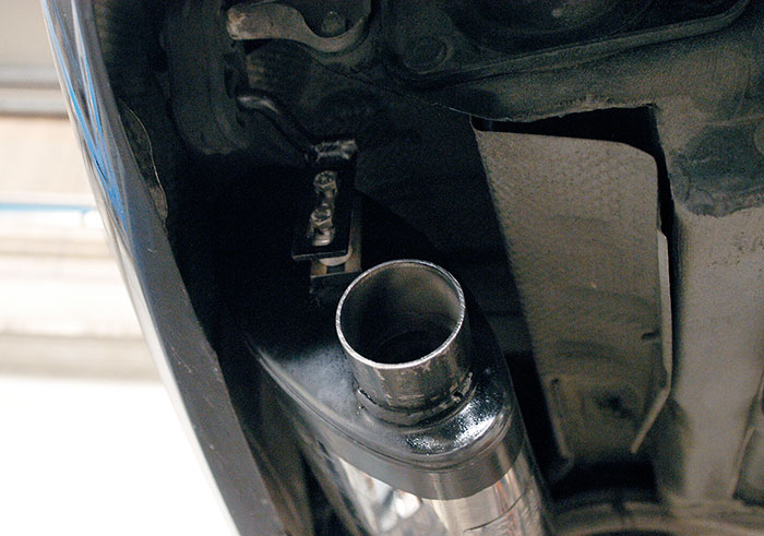 Detail of of 848235 Rear exhaust L. 145x95