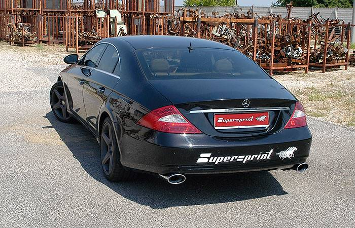 MERCEDES C219 CLS 350 V6 2004 –› 2006 - Supersprint exhaust system