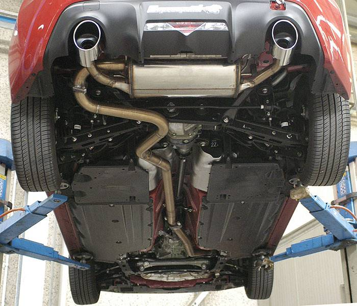 Supersprint full exhaust system