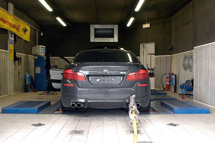 Performance sport exhaust for BMW F10 M5, BMW F10 M5 V8 2012