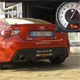 TOYOTA GT86 / SUBARU BRZ 2.0i (200 Hp) 2012 -> Sound test in various configurations