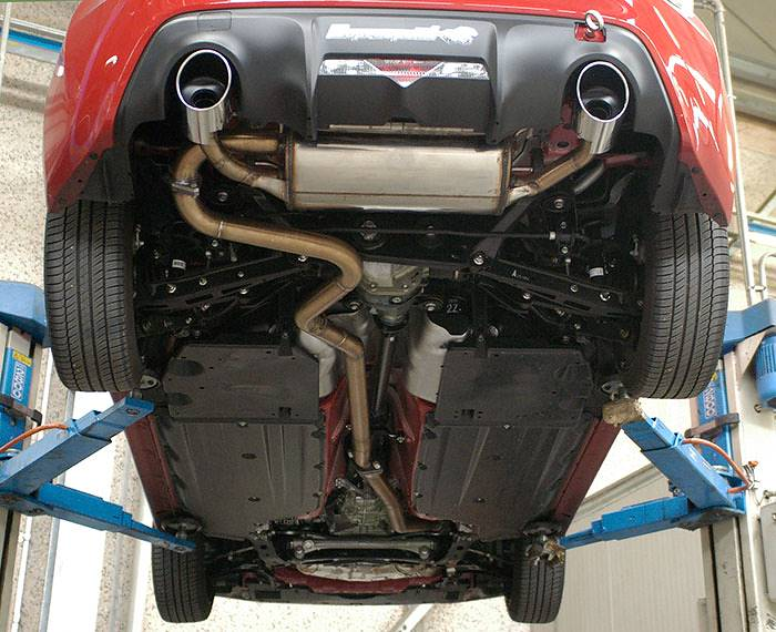 Prototype of Supersprint full exhaust system