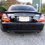 MERCEDES R171 SLK 350 V6 - Full Supersprint exhaust system