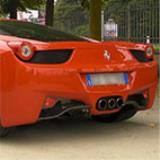 FERRARI 458 Italia 4.5i V8 - Metallic catalytic converters + Rear exhaust Right + Left with bypass valves - Revving