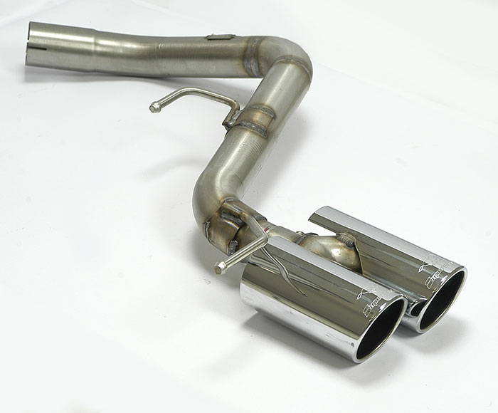 Prototype of 044516 Rear pipe OO80