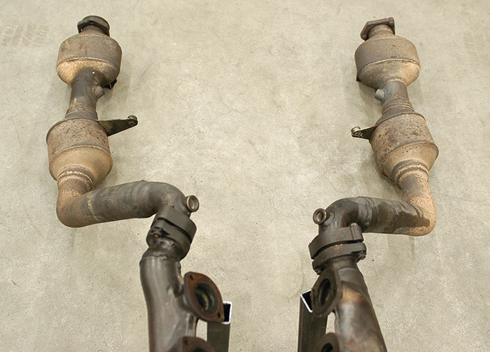 Stock manifolds + stock catalytic converters