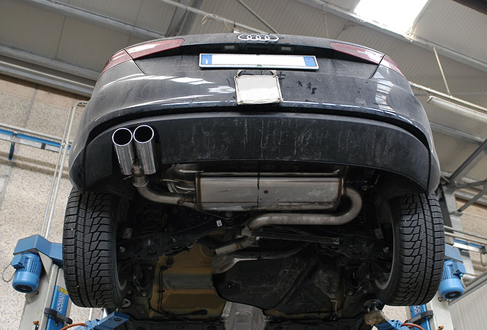 Mockup Of 770504 Rear Exhaust 764516 Endpipe Oo8: Audi A3 Exhaust At Woreks.co