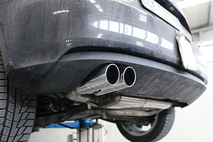 Mockup of 770504 Rear exhaust + 764516 Endpipe OO80