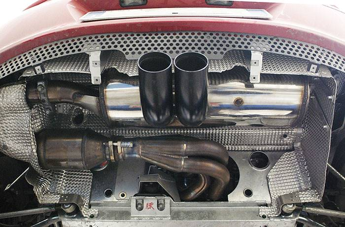 Prototype of Supersprint full exhaust system (items 441901 - 440402 - 441906