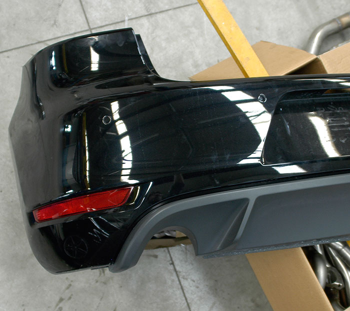 VW GOLF VI GTI rear bumper