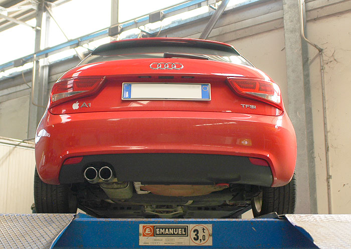 Stock exhaust