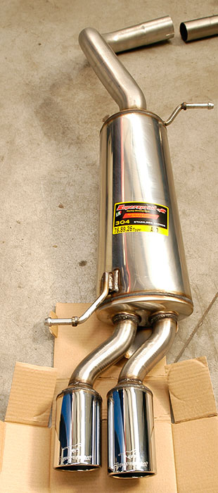 768926 Supersprint rear exhaust