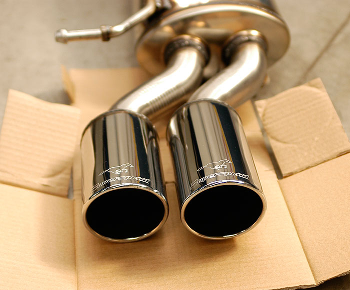 768926 80mm tailpipes detail