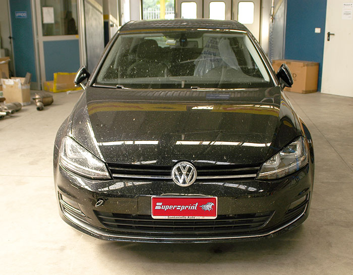 vw golf vii 1 4 tsi 122 hp 140 hp 2012 volkswagen exhaust systems. Black Bedroom Furniture Sets. Home Design Ideas