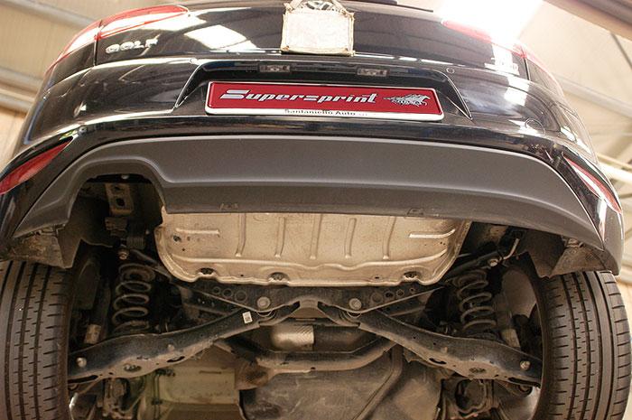 performance sport exhaust for vw golf mk7 1 4 tsi vw golf vii 1 4 tsi 122 hp 140 hp 2012