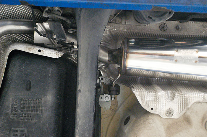 Detail of 768926 Rear exhaust OO80